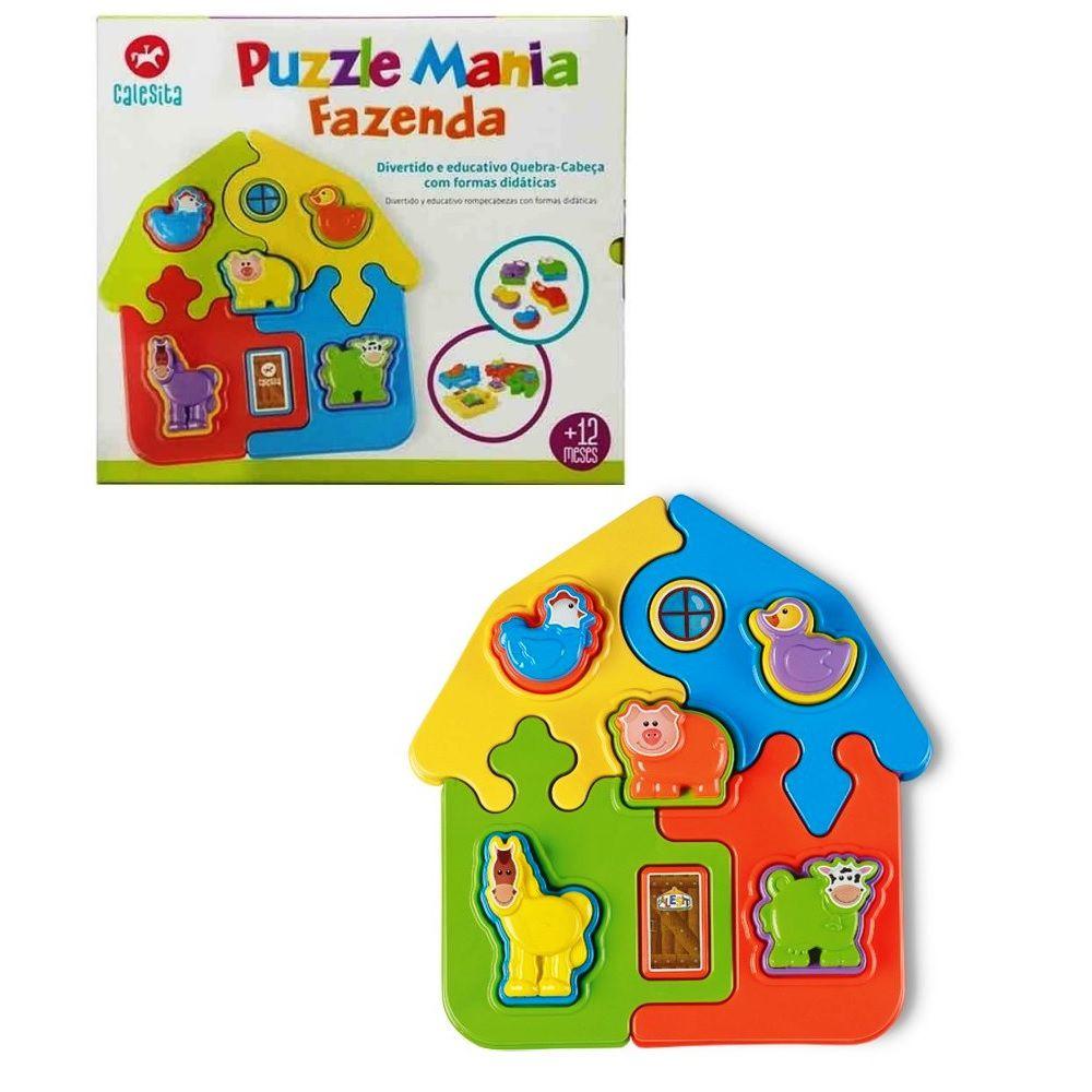 Puzzle Mania Fazenda 9 Peças