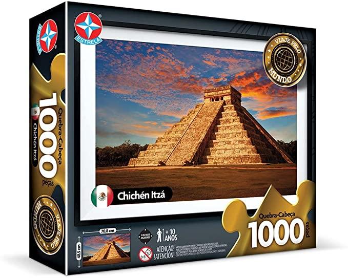 Quebra-Cabeça - 1000 Peças - Chichén Itzá