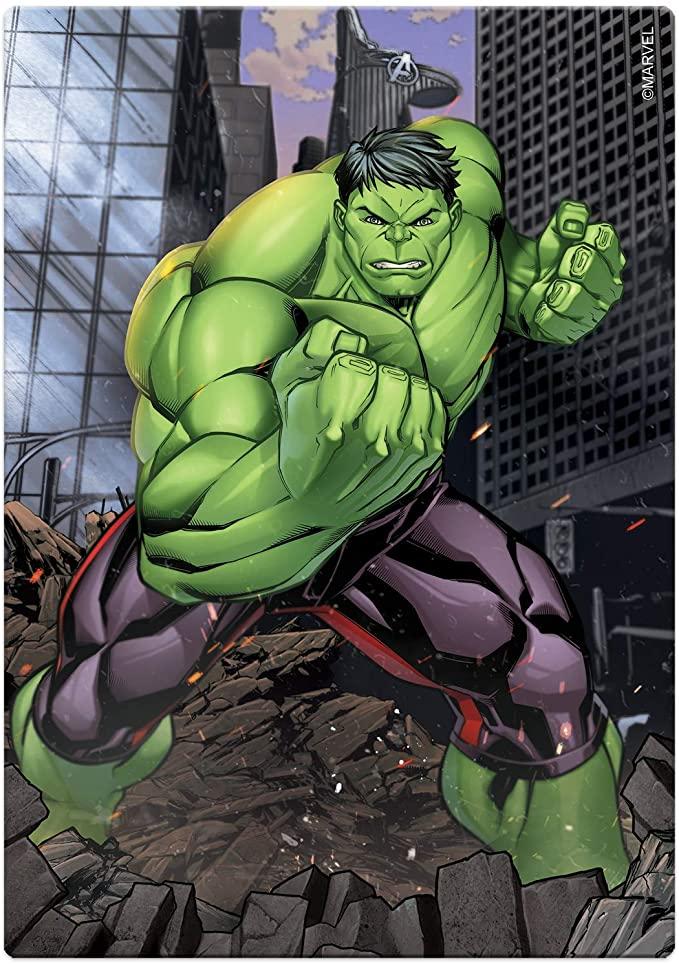 Quebra-Cabeça - 200 Peças - Os Vingadores - Hulk - Toyster