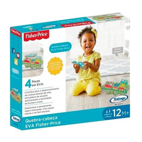Quebra Cabeca Eva Fisher Price