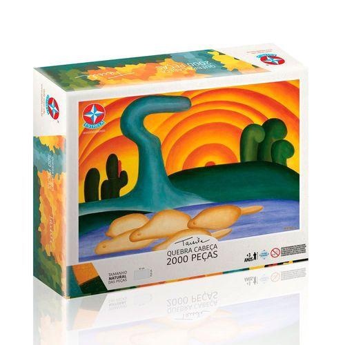 Quebra-cabeça - Tarsila do Amaral - 2000 Peças