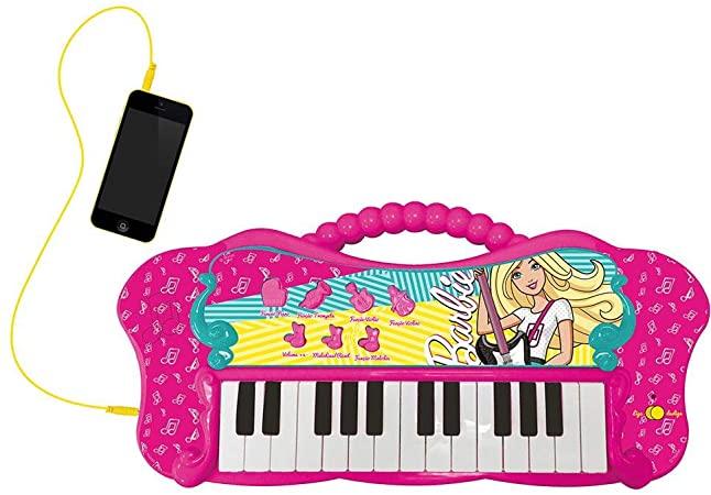 Teclado Fabuloso Barbie Com Função Mp3 Player