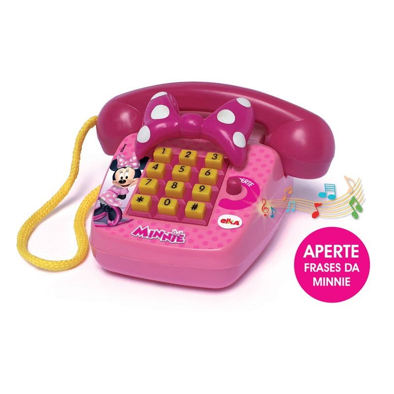 Telefone Sonoro - Disney - Minnie