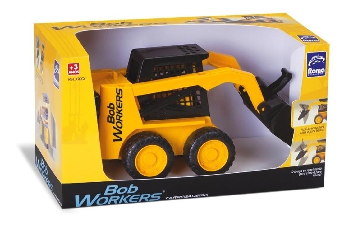 Trator Carregadeira Bob Workers