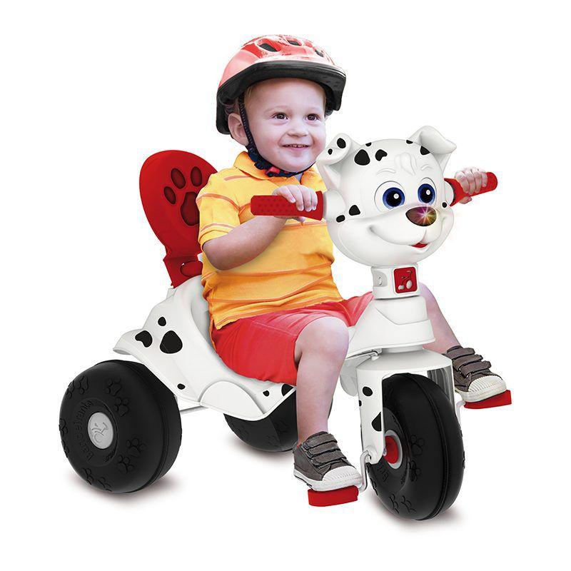 Triciclo Bandeirante Tonkinha Doggy com Função Passeio e Pedal