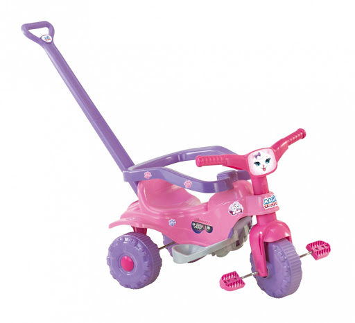 Triciclo Tico Tico Pets Rosa