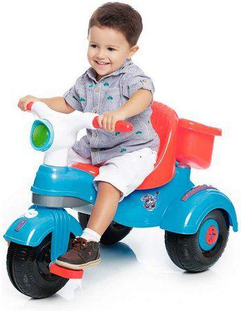 Triciclo Velocita Classic Azul