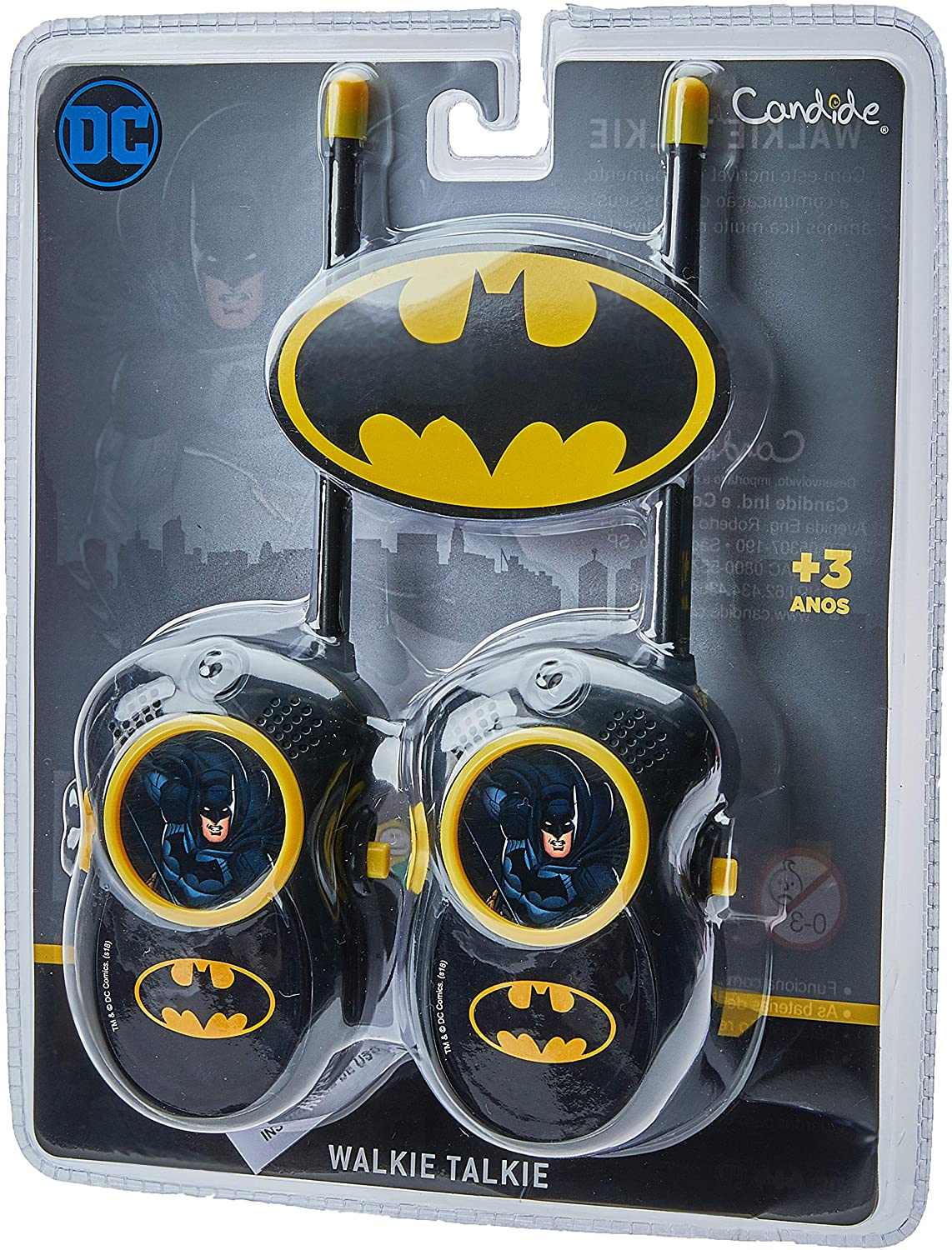 Walkie Talkie Infantil Do Batman