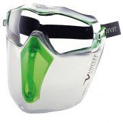 Óculos de Proteção Univet 6X3 Balístico Com Protetor Facial CA 38387