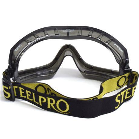 Óculos de Proteção EVEREST SteelPro Ampla Visão