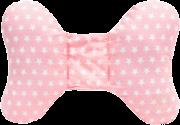 Almofada Apoio para Cabeça Rosa