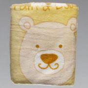 Cobertor Estampado Bebê Zoo