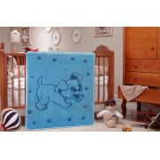 Cobertor Pippo Ted Etruria Azul