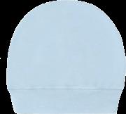 Touca Canelada Lisa Azul Passinho