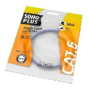 Patch Cord Cat 6 Soho Plus 2,5m Novo