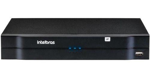 Gravador Digital Intelbras 4 Canais, Full Hd, Nvd 1204  - Novo