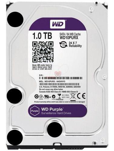 Disco Rígido Wd Purple 1tb Para Cftv