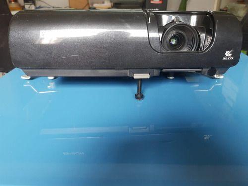 Projetor Epson Com Lampada E Placa Ok Sucata