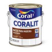 MASSA MADEIRA CORAL 3,6L (MASSA OLEO)