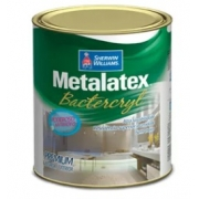 TINTA METALATEX BACTERCRYL SEMI-BRILHO 0,9L BRANCO