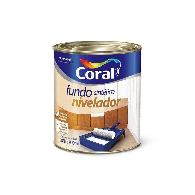 FUNDO FOSCO BRANCO MAD CORAL 0,9L  (FUNDO NIVEL)