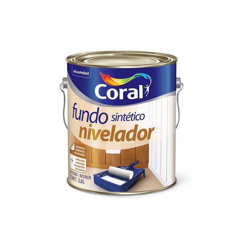 FUNDO FOSCO BRANCO MAD CORAL 3,6L  (FUNDO NIVEL)