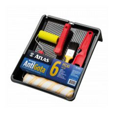 KIT PINTURA ATLAS 6PS ANTIGOTA (AT1017)