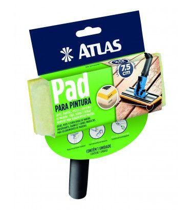 PAD PARA PINTURA MADEIRA C/ CABO ATLAS (AT750/90)