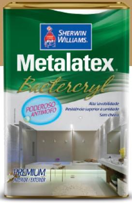 TINTA METALATEX BACTERCRYL SEMI-BRILHO 18L BRANCO