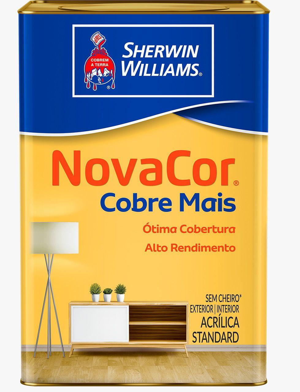 TINTA NOVACOR COBREMAIS 18L