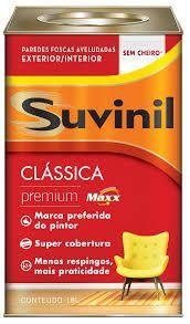 TINTA SUVINIL CLASSICA 18L