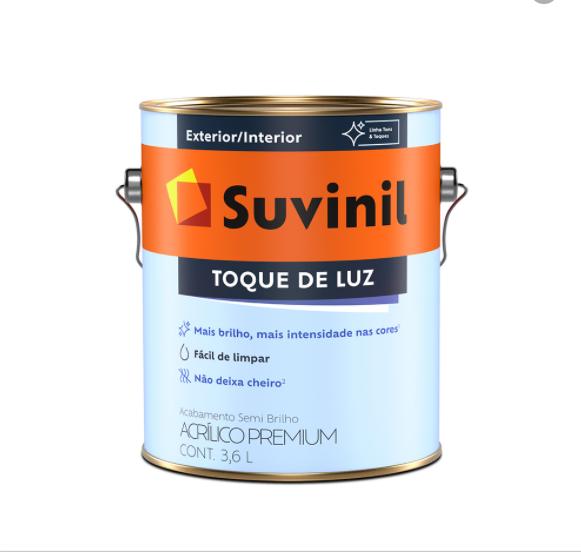 TINTA SUVINIL TOQUE DE LUZ SEMI-BRILHO  3,6L BRANCO