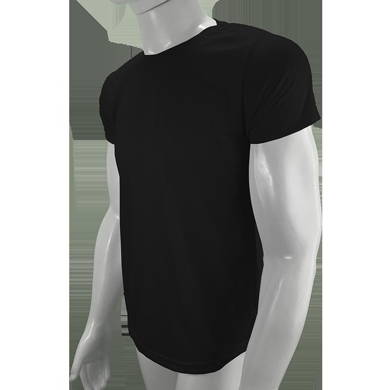 100 camisetas para sublimação camisa malha blusa atacado Preta  - PBF GRAFICA E TEXTIL LTDA