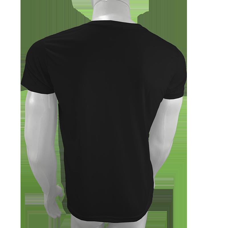 10 camisetas para sublimação camisa malha blusa atacado Preta  - PBF GRAFICA E TEXTIL LTDA