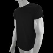 100 camisetas para sublimação camisa malha blusa atacado Preta