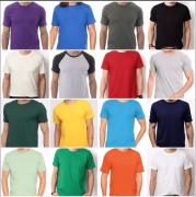 Camisa para Sublimação - Pacote c/ 10 unidades.