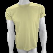 Camisa Poliéster Amarelo Bebê para sublimar