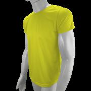 Camisa Poliéster Amarelo Canário - Camiseta sublimação