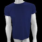 Camisa Poliéster Azul Marinho para sublimar