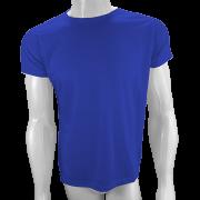 Camisa Poliéster Azul Royal para sublimar