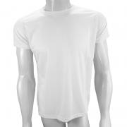 Camisa Poliéster Branca para sublimar