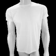 Camisa Poliéster Branca - Camiseta sublimação