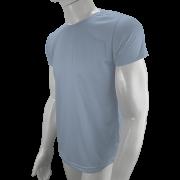 Camisa Poliéster Cinza Claro  - Camiseta sublimação
