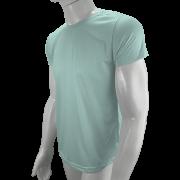 Camisa Poliéster Verde Bebê para sublimar