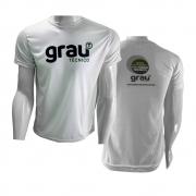 Camisas Aluno Branca em sublimação - Grau Técnico