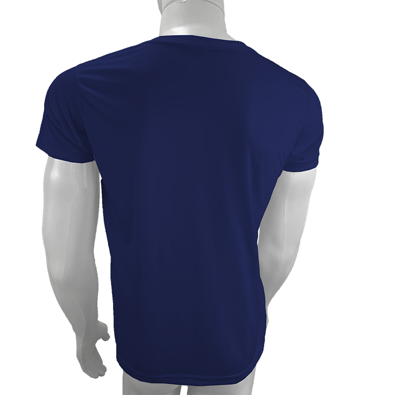 Camisa Poliéster Azul Marinho para sublimar  - PBF GRAFICA E TEXTIL LTDA