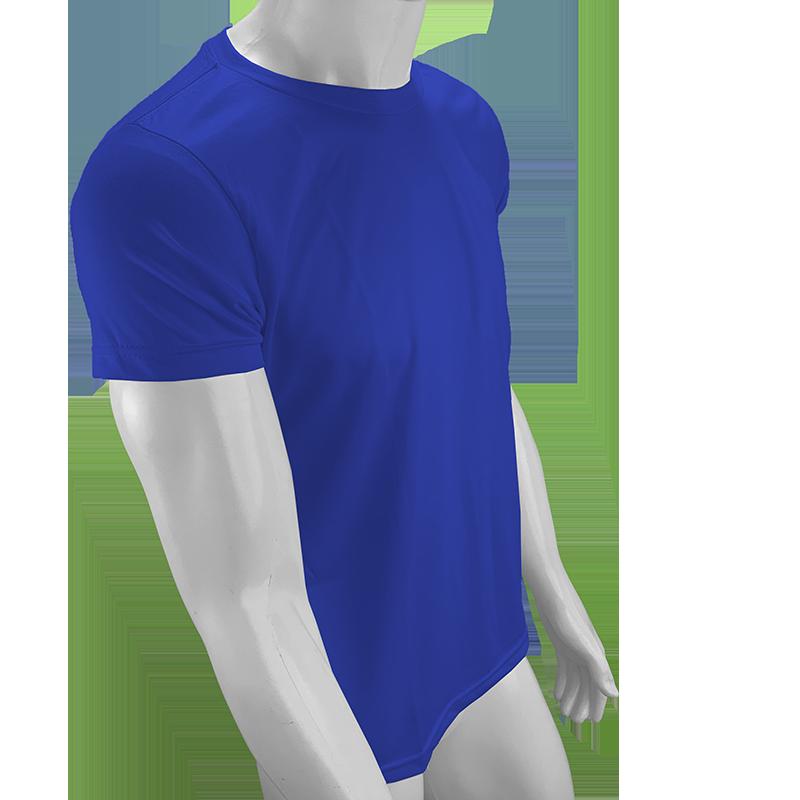 Camisa Poliéster Azul Royal para sublimar  - PBF GRAFICA E TEXTIL LTDA