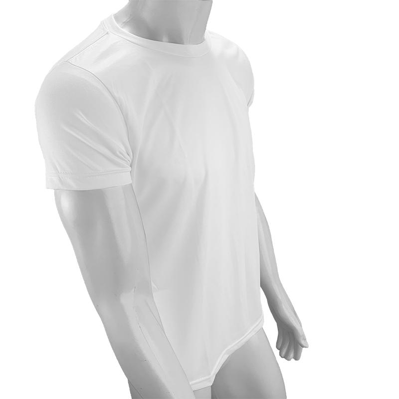 Camisa Poliéster Branca para sublimar  - PBF GRAFICA E TEXTIL LTDA