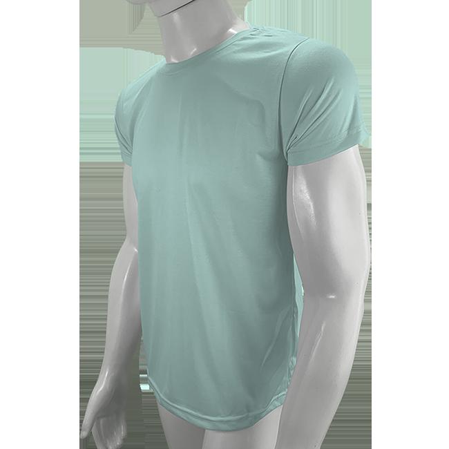 Camisa Poliéster Verde Bebe - Camiseta sublimação  - PBF GRAFICA E TEXTIL LTDA