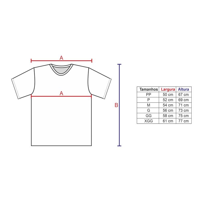 Camisa Poliéster Vermelha para sublimar  - PBF GRAFICA E TEXTIL LTDA